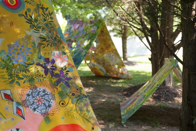 Maryanne Pollock Sculpture at ARTINA 2017